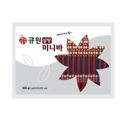 큐원 미니바 설탕 500g(5g100개)