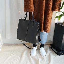 Stitch square bag