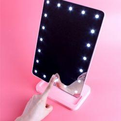 LED 조명 메이크업거울 - 블링블링 탁상거울