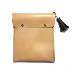FILE CLUTCH (TAN)