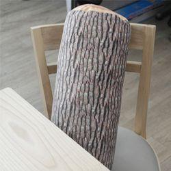 통나무 모양 중형 쿠션