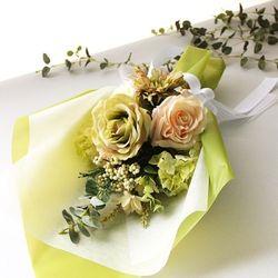 투톤그린 꽃다발