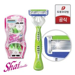 Shai Vanilla(샤이바닐라) 여성 면도기(3개입)