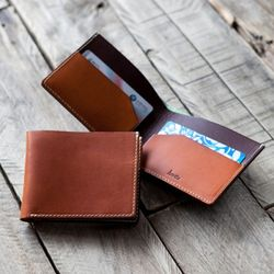 3220 Slim Bifold Wallet Minerva -각인
