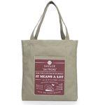 [Da proms] The Shopper bag - Khaki