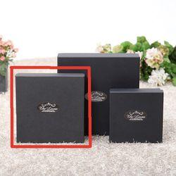 선물 포장 상자-블랙싸바리상자  정사각 중형 Box D2
