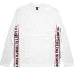 STRAP LONG T-shirt WH RD