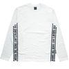 STRAP LONG T-shirt WH BK