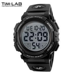 [TIM-LAB] 남성 스포츠시계 전자손목시계 방수 1258