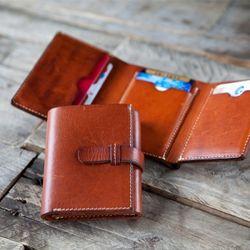 3303 Trifold Wallet Minerva - 각인있음