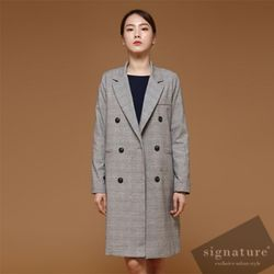Check long jacket