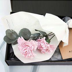 메르시 꽃다발세트-핑크(꽃다발&선물포장세트)
