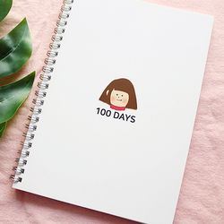 100DAYS 스크랩북