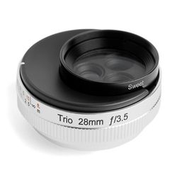 LENSBABY렌즈베이비 TRIO28mm 3in1 LENS (MICRO 4.3)