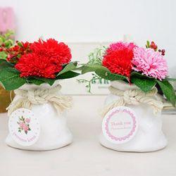 심쿵 주머니카네이션 비누꽃