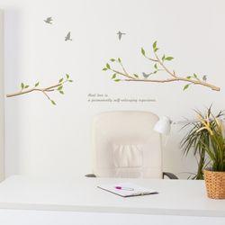 우드스티커- 나무가지 (반제품) W489 포인트 월데코