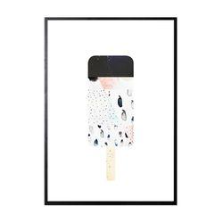 수입작가아트포스터- ART 48 LIQUORICE(포스터 ONLY)
