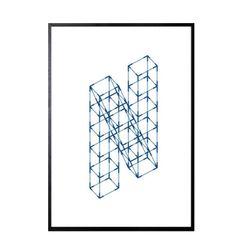 수입작가아트포스터- ANTI N(포스터 ONLY)