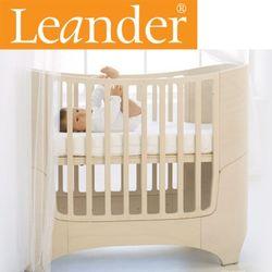 [LEANDER] 덴마크 리엔더 유아침대 화이트워시+확장팩
