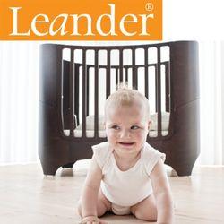 [LEANDER] 덴마크 리엔더 유아침대 월넛 + 확장팩