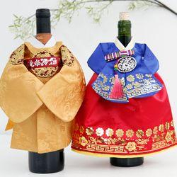 럭스한복 와인커버