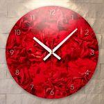 ik438-카네이션인테리어벽시계