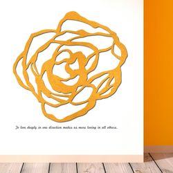 우드스티커- 장미 (컬러완제) 꽃 플라워 W484 입체