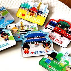 미라클코리아 서울여행 자석
