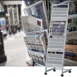 잡지꽂이 신문가판대
