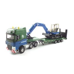 LOW LOADER WITH EXCAVATOR(KDW250382GR) 굴삭기