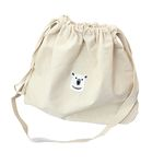 polar bear bucket bag