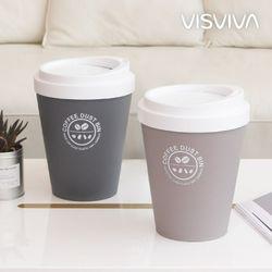비스비바 커피 원형 휴지통 5L 2종택1