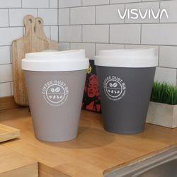 비스비바 커피 원형 휴지통 5L 2P