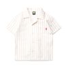 WAVE STRIPE OPEN SHIRTS - RED