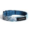 Slice Cheese Blue paisley