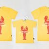 [SET] Lobster Yellow Mom& Dad & Baby T-shirts