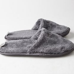 THE TOWEL SLIPPERS (GRAY - KID)