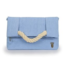 Evervely Clutch Bag - BabyBlue(에버블리 클러치백)