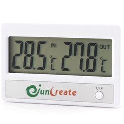 준크리에이트 인아웃 더블 디지털 어항온도계