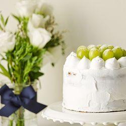 청포도 생크림 케이크 만들기 - 베이킹 박스