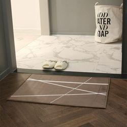 프리미엄 초극세사 매트 - 오빌리크브라운(60x40cm)