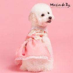 메종드독 로즈마리 애견한복 강아지옷