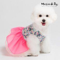 메종드독 블라썸 애견한복 강아지옷