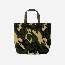 CANVAS CAMO TOTE BAG
