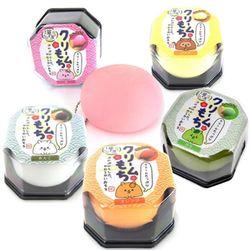 스퀴시 스트레스볼 주물럭 크림모찌 (일본정품)