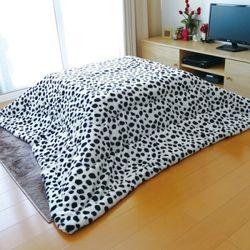 장방형 코타츠 이불 - 강아지 (190X240cm)