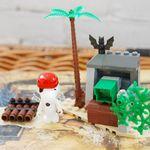 피넛츠 블럭 Fierce Pirate 보물섬 (7520)