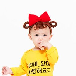 아기가발밴드-춘리밴드