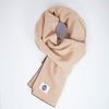 PEPPER WOOL MUFFLER BEIGE