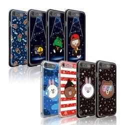 라인프렌즈 iPhone8 7 Beat Brown AS 라이팅 케이스